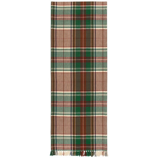Delancy 100% Cotton Plaid Table Runner (Set of 2) by Darby Home Co